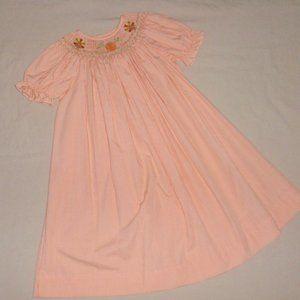 Vive La Fete Thanksgiving Smocked Dress Sz 4